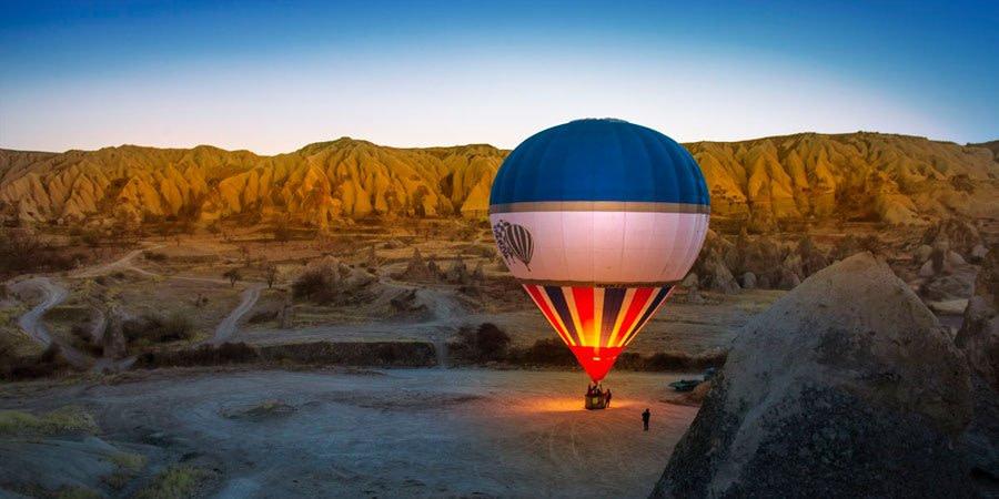 cappadocia-balloon-ride-turkey Activities and itineraries