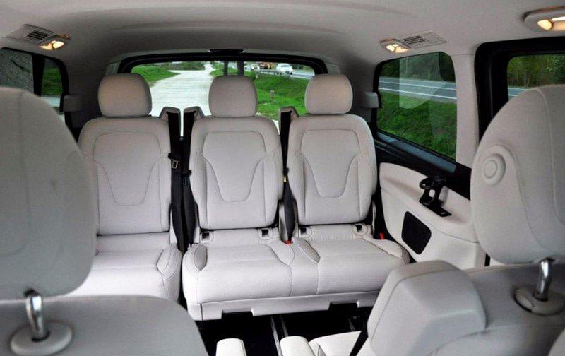 viano-Mercedes-inside Mercedes Vito 6 seats